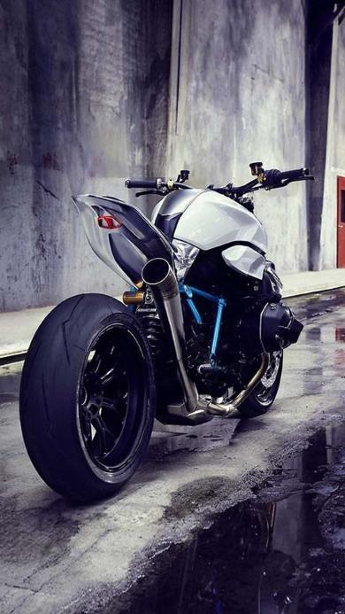摩托 黑色 酷 骑行