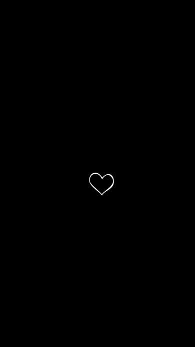 爱心 爱情 黑白 简笔画 线条