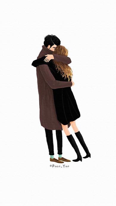 爱情 情侣 拥抱 金发