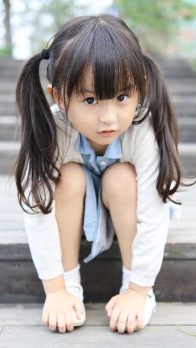 刘楚恬 小芈月 女孩 可爱 小孩 小清新 萌 彩色