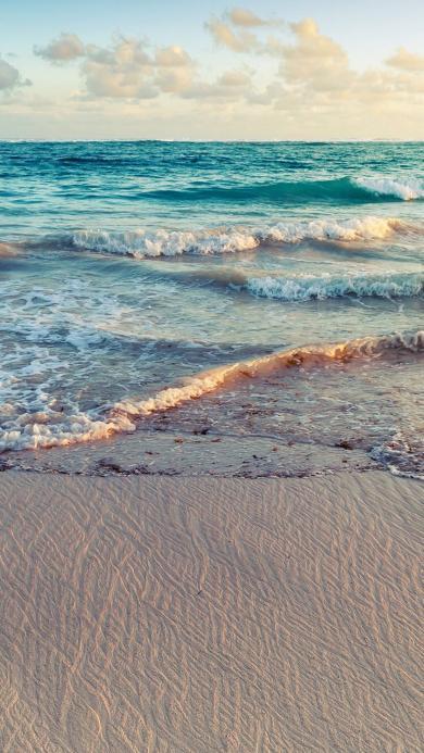 海边 沙滩 海浪 大海