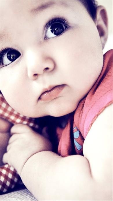 萌娃 大眼 可爱 宝宝 孩子