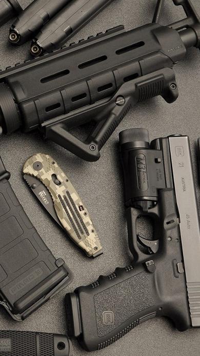 枪支 弹药 杀伤力武器