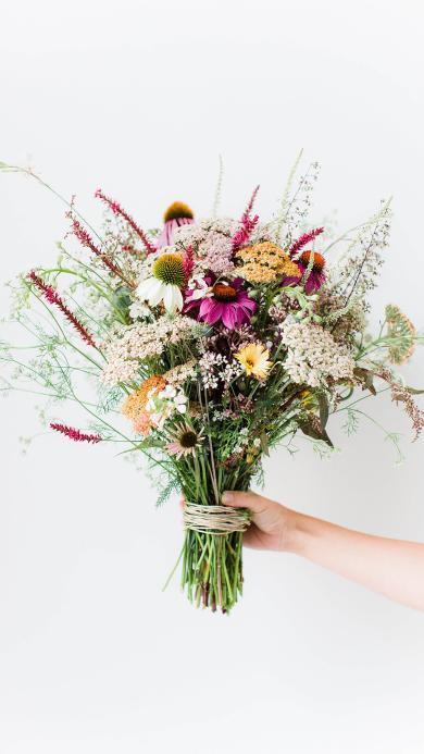 花束 鲜花 花艺 色彩 浪漫
