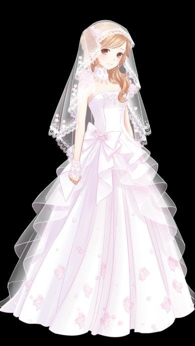 美女 婚纱 女人 艺术 唯美 结婚