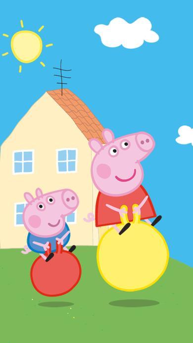 小猪佩奇 peppa pig 卡通 动画片