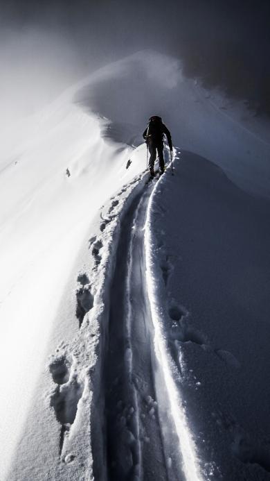 运动 登山 雪山