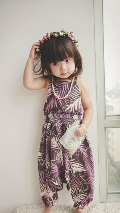 哈琳 萌娃 可爱 时尚