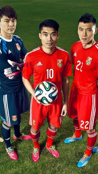 足球运动员 国家队 霸气