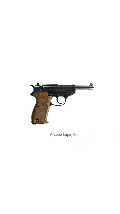 手枪 arsene lupin 武器 军用