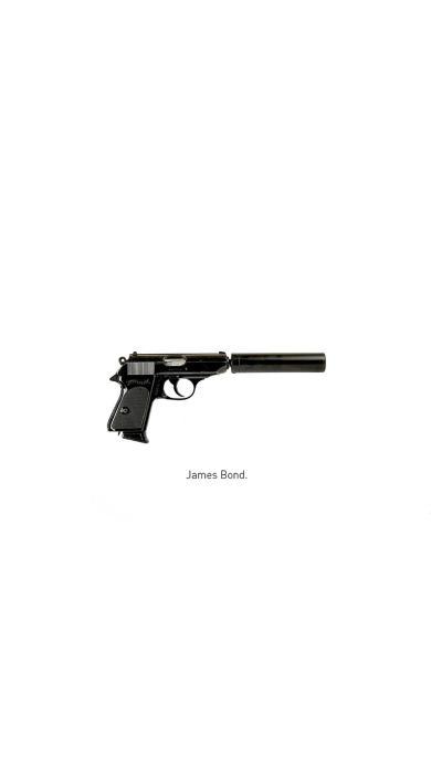 手枪 james bond 007 武器 军用