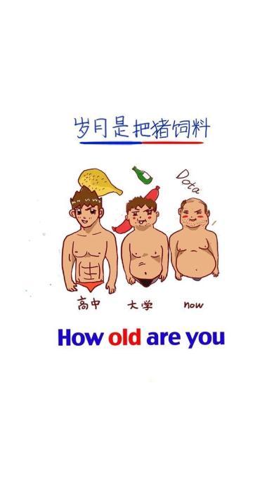 岁月是把猪饲料 how old are you