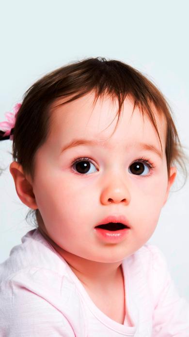 小女孩  萌宝 可爱 欧美 小辫子 儿童