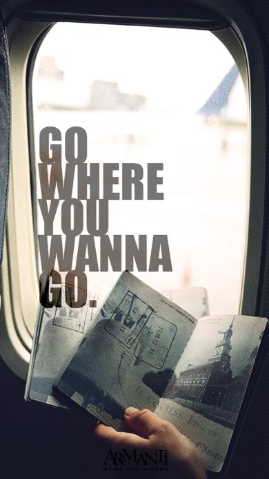 飞机 go where you wanna go