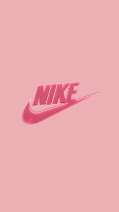 NIKE 耐克 粉色 运动 品牌 标志 logo