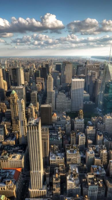 城市 风景 蓝天 白云