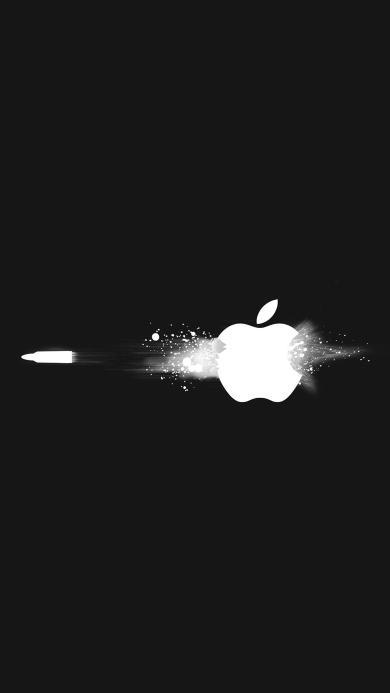 苹果 logo 简约 创意