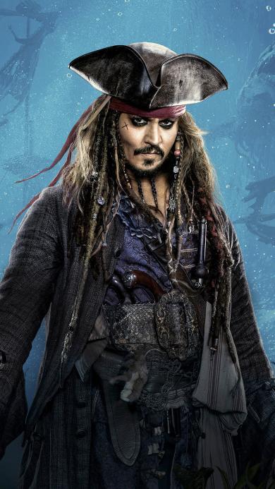 加勒比海盗 死无对证 杰克船长 约翰尼·德普