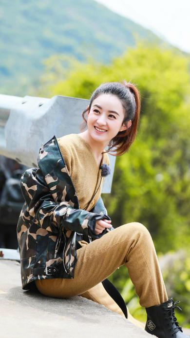 赵丽颖 七十二层奇楼 综艺 演员 明星 颖宝 笑