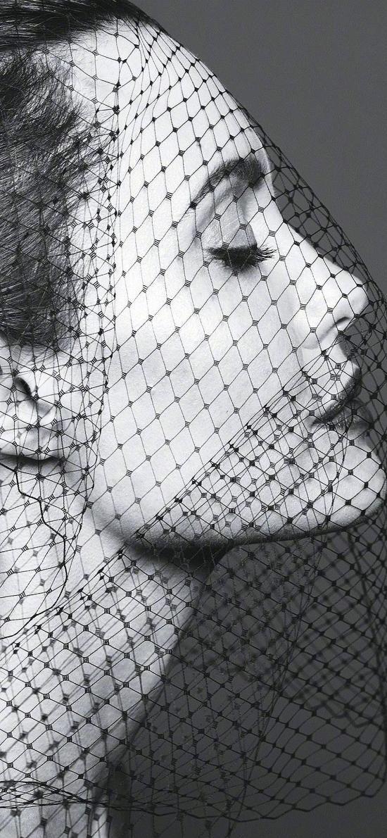 安吉丽娜朱莉 演员 欧美 明星 黑白