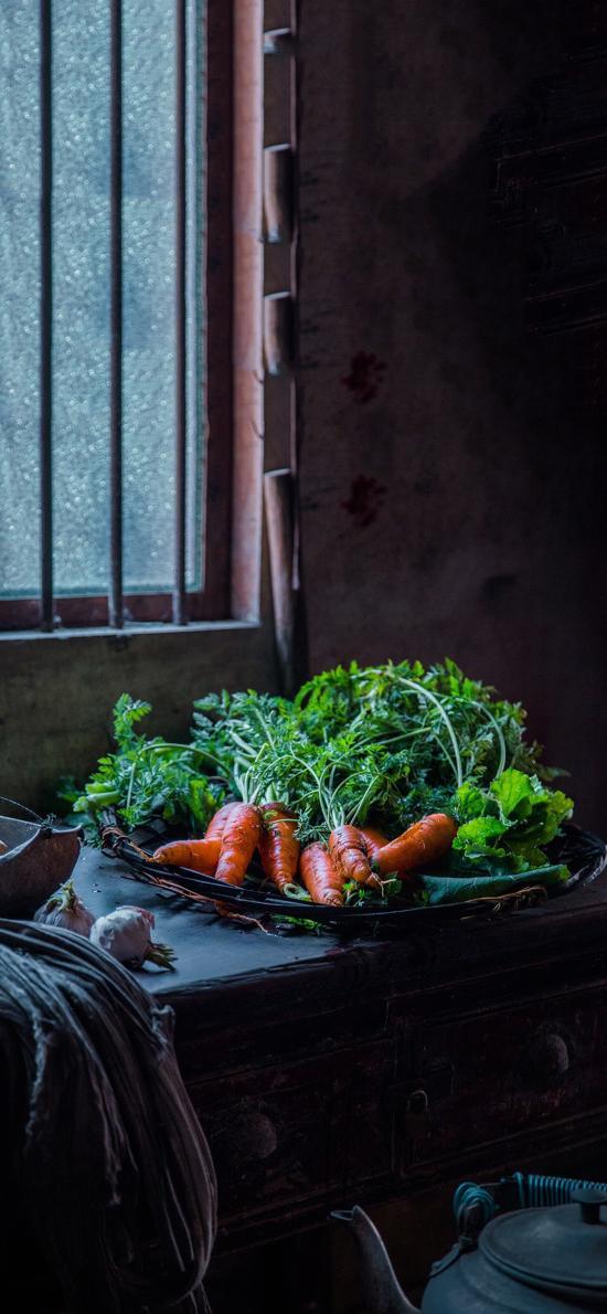 胡萝卜 蔬菜 食材 维生素