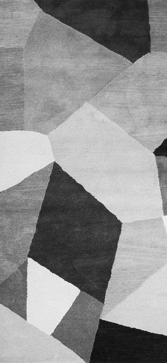 几何 黑白 灰色 拼接