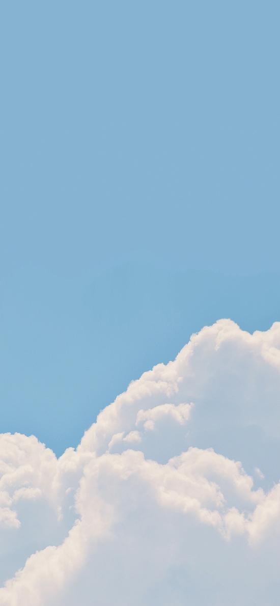 天空 蓝色 白云 小清新