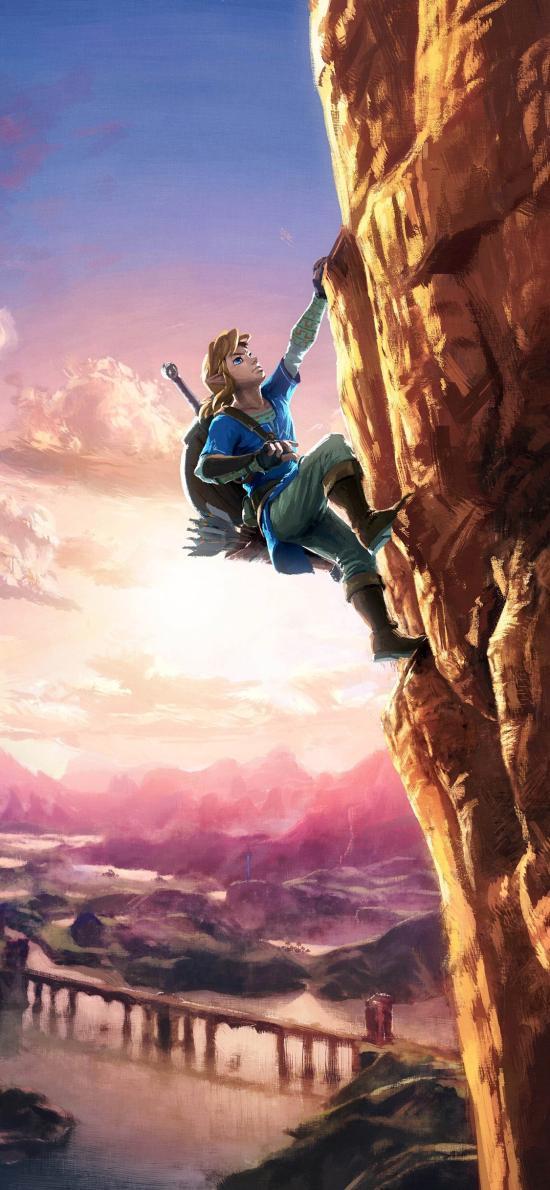塞尔达传说 荒野之息 射击 动作 冒险 攀岩