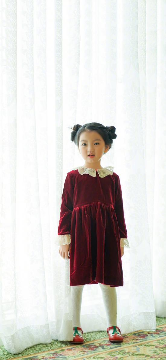阿拉蕾 小女孩 可爱 儿童