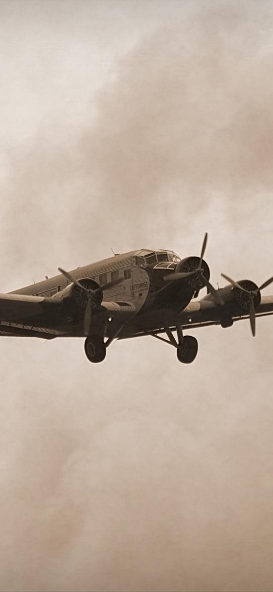 飞机 战斗机 飞行 航空 空军 复古
