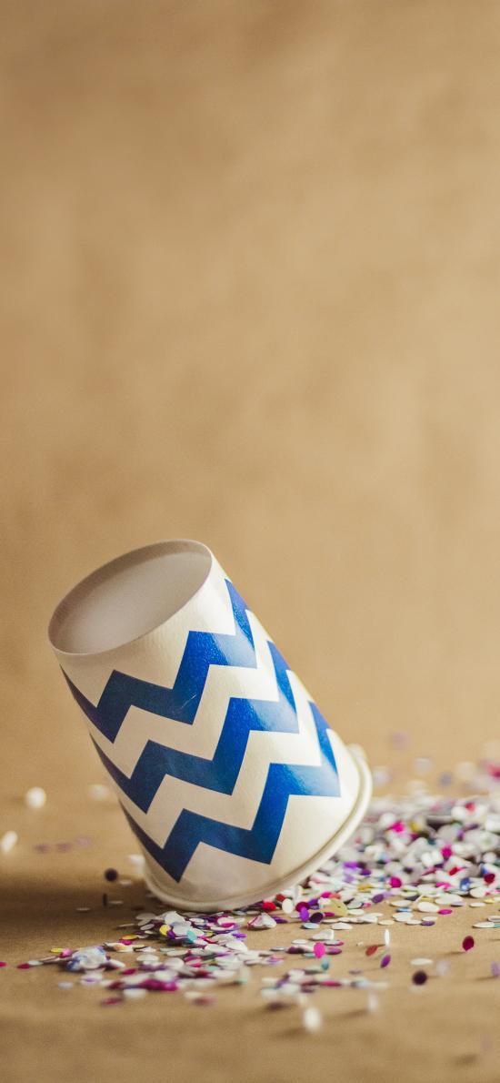 紙杯 顆粒  創作 藝術