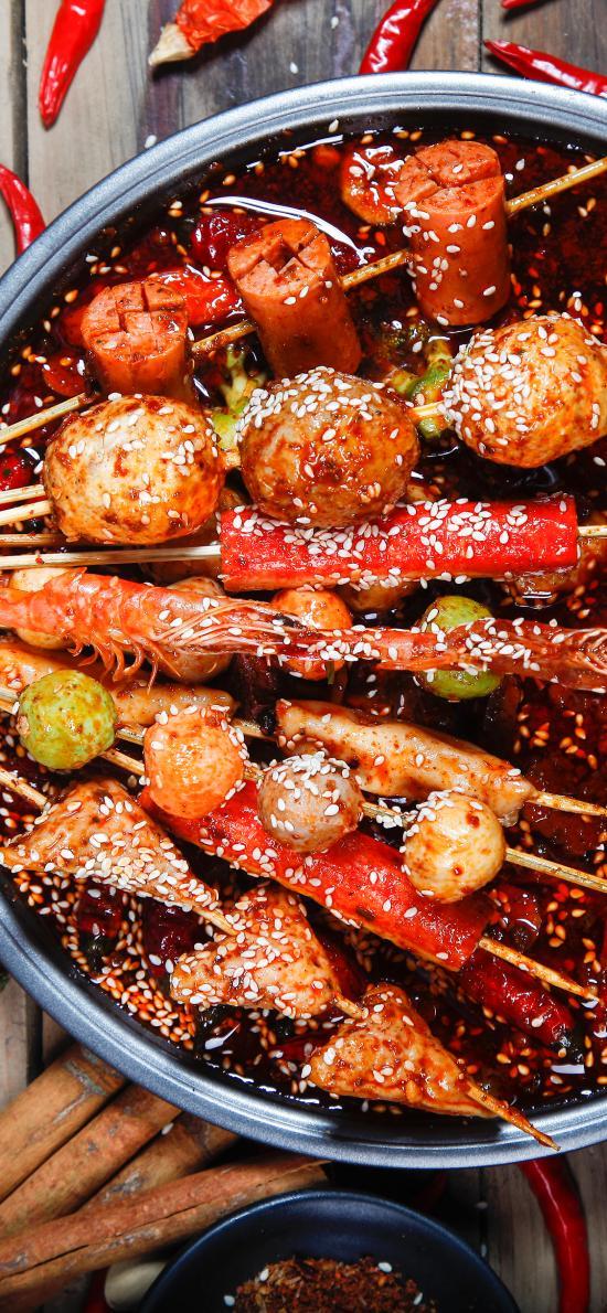 串串 串串香 麻辣 芝麻 冷鍋