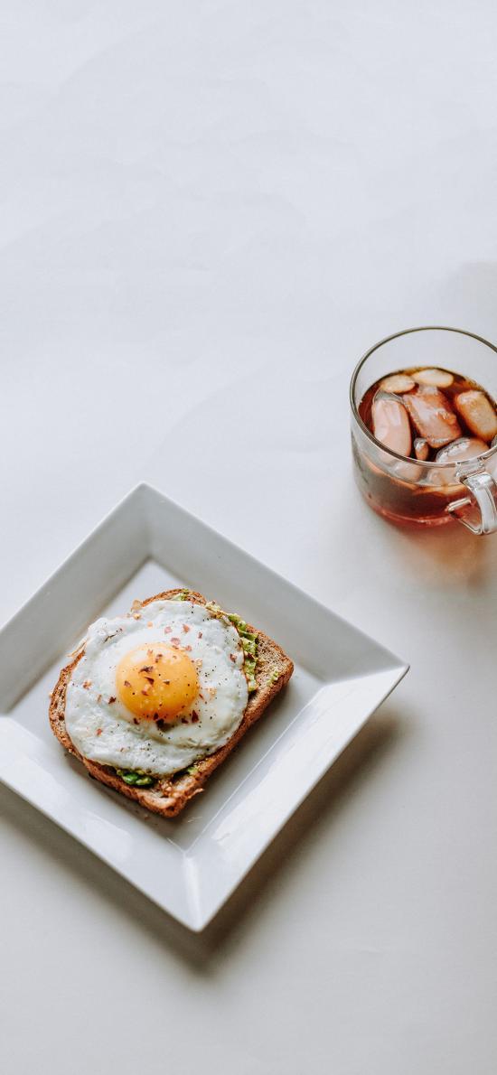 餐點 煎蛋 吐司