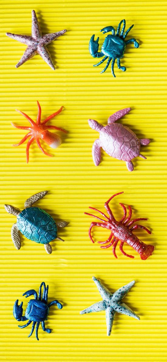 玩具 海洋生物 海星 海龜
