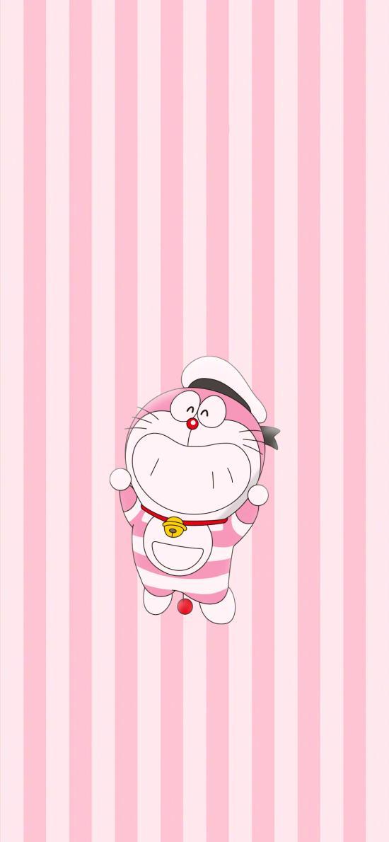 哆啦A梦 大雄的金银岛 带我回家 动画片 卡通 电影 海报 叮当猫 粉色