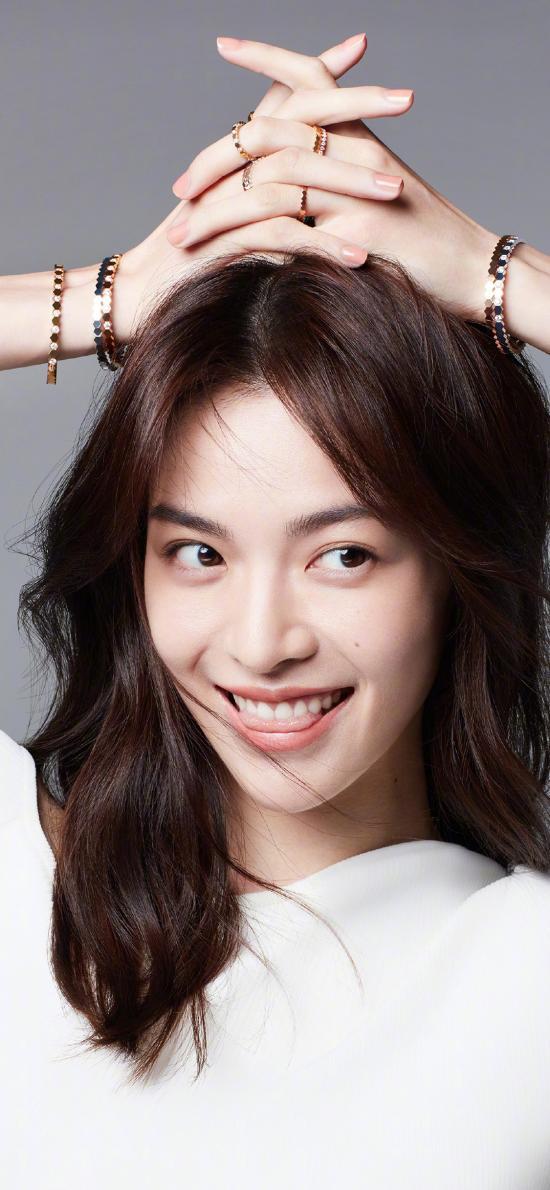 鐘楚曦 演員 明星 藝人 笑容