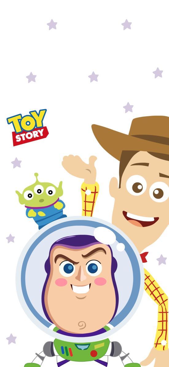 玩具總動員 動畫 胡迪 巴斯光年