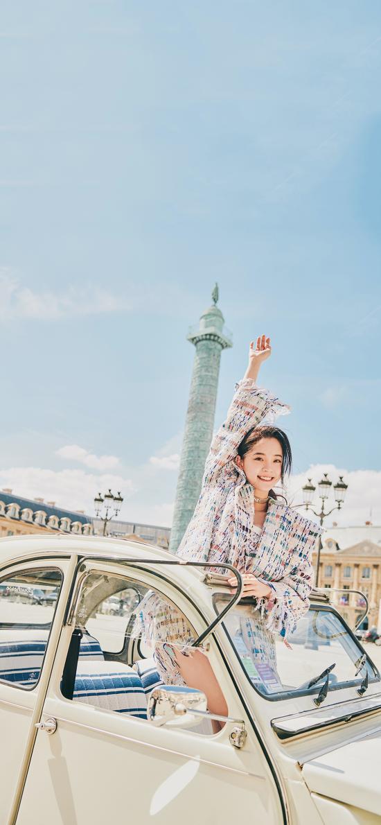 歐陽娜娜 演員 明星 藝人 時尚 汽車