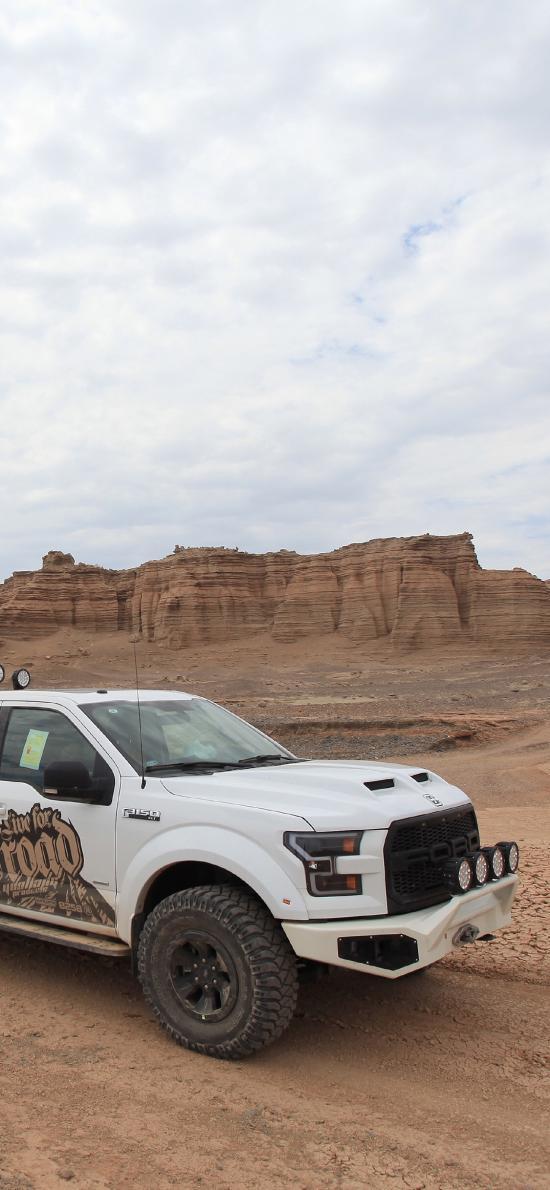 越野 山地 汽車 旅行 沙漠