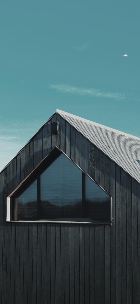 木屋 屋子 尖頂 屋頂 房子