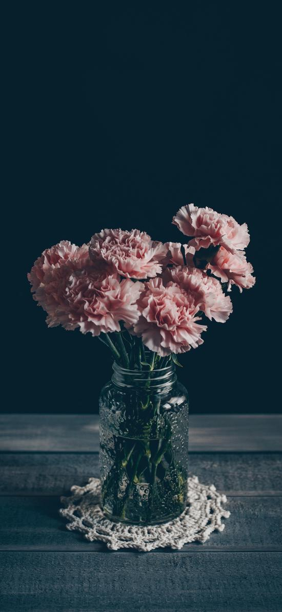 鮮花 康乃馨 花瓶 靜物