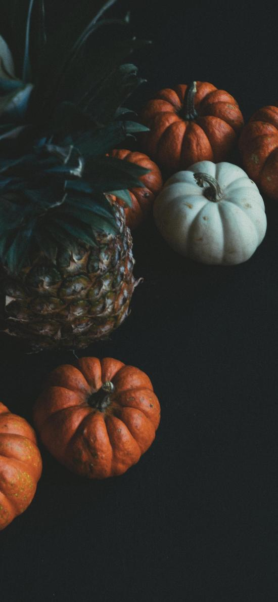 食材 菠萝 南瓜 蔬菜 水果