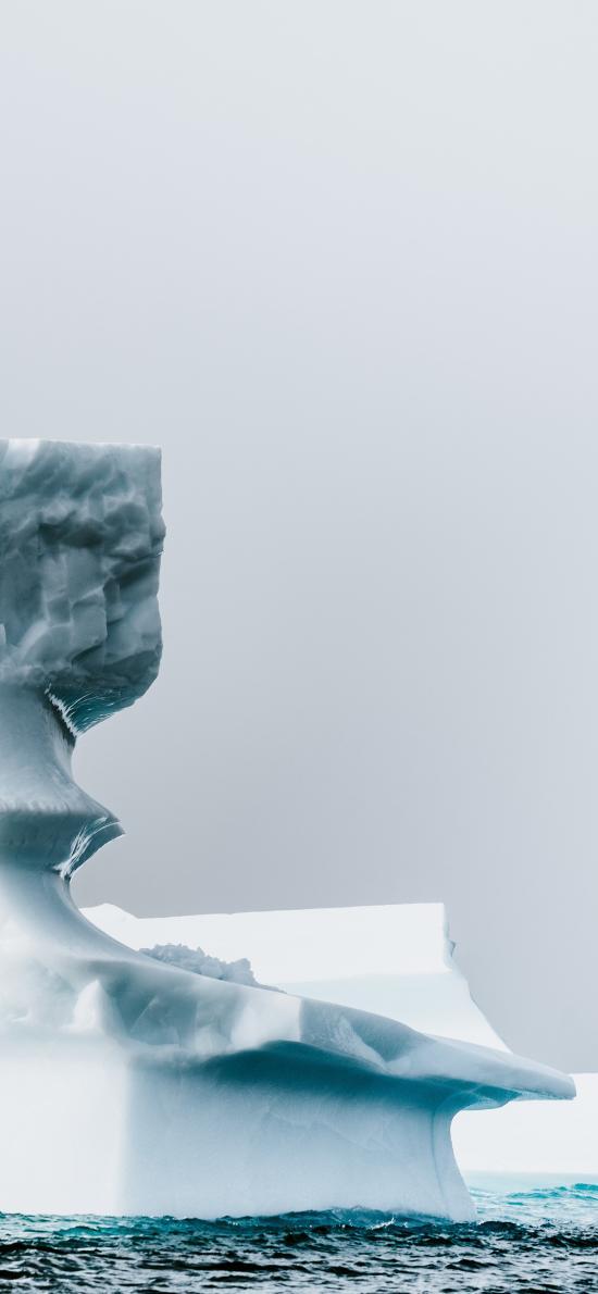 冰山 冰川 海水 漂浮