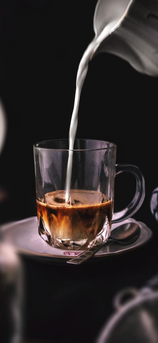 饮品 咖啡 牛奶 提神