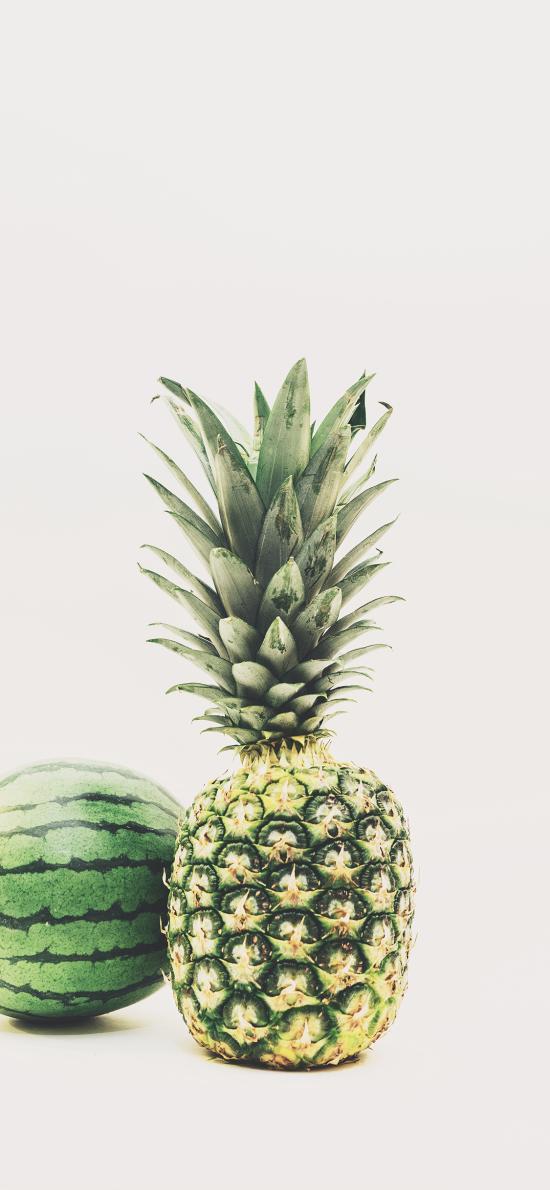 水果 西瓜 菠萝  季节