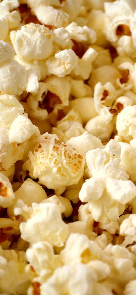 爆米花 密集 零食 黄色 玉米