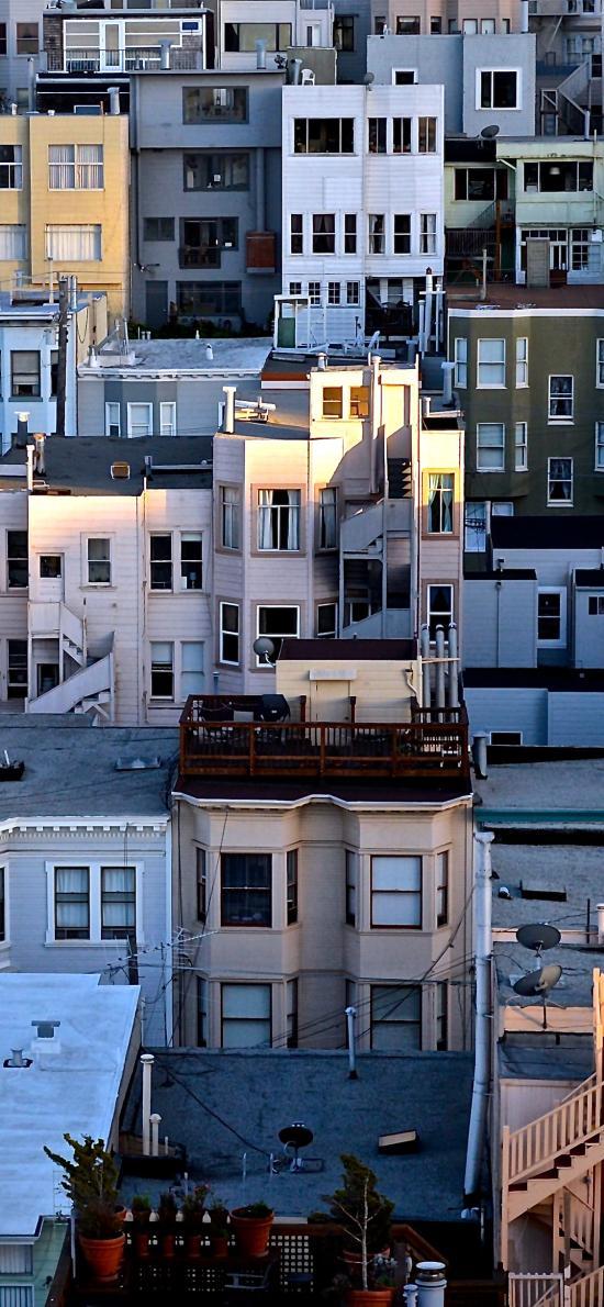 房屋 建筑 楼房 城市 住宅楼