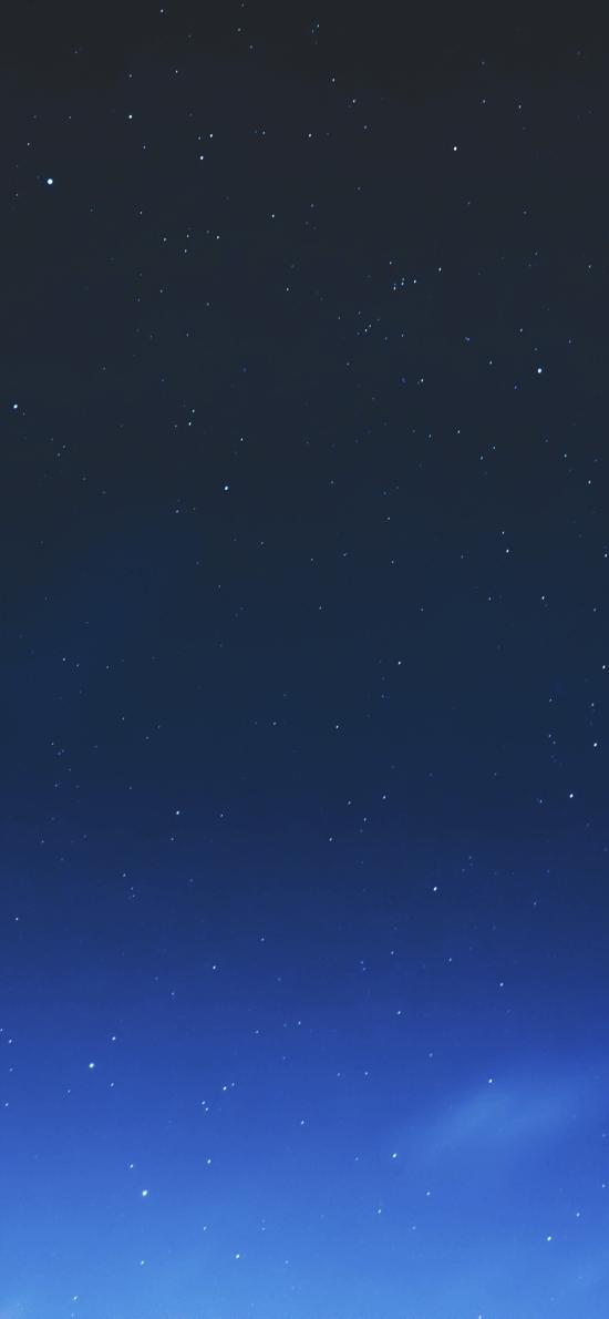 星空 渐变 天空 唯美