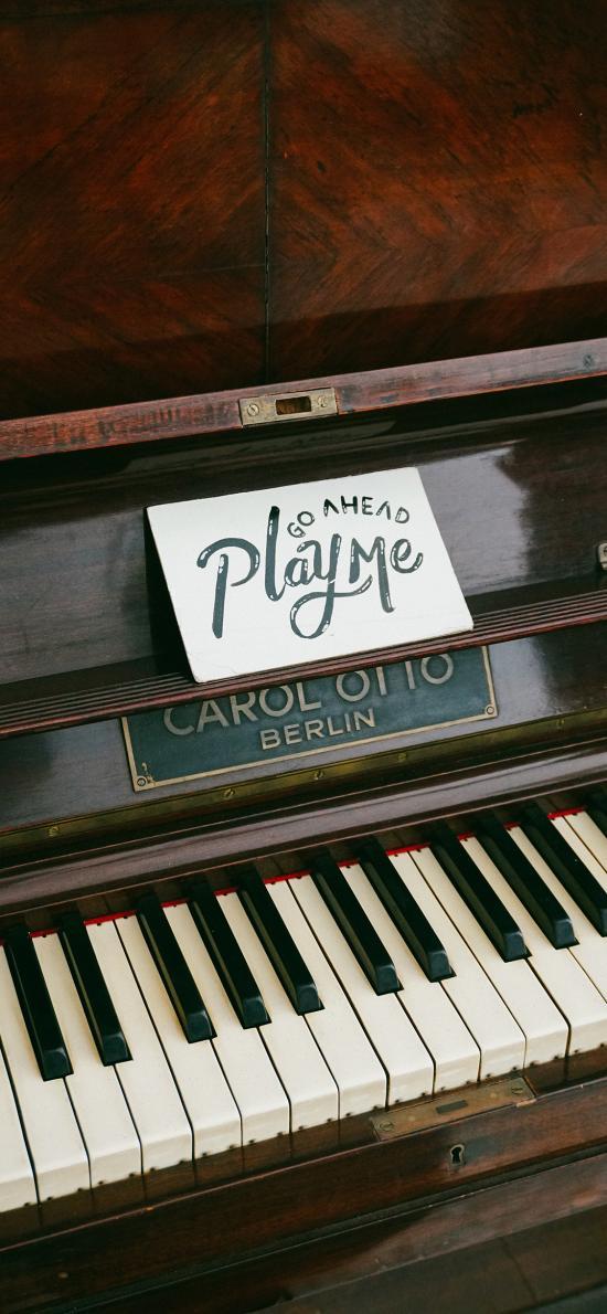 钢琴 乐器 play me