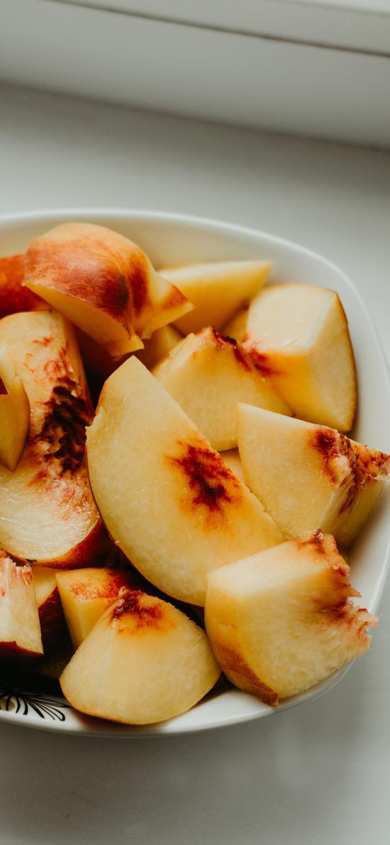 桃子 水果 果肉